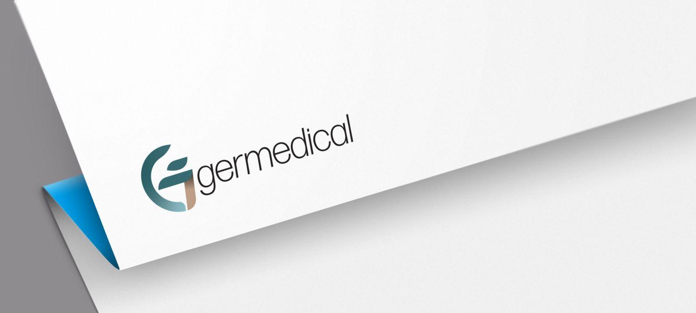 Logo CI Design für Germedica - Logoentwicklung Beispiel