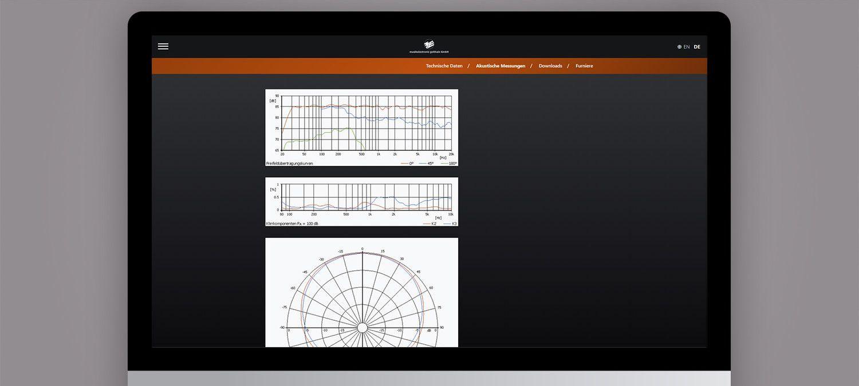 Webseite Relaunch für ME Geithain - Produktdseite Beispiel