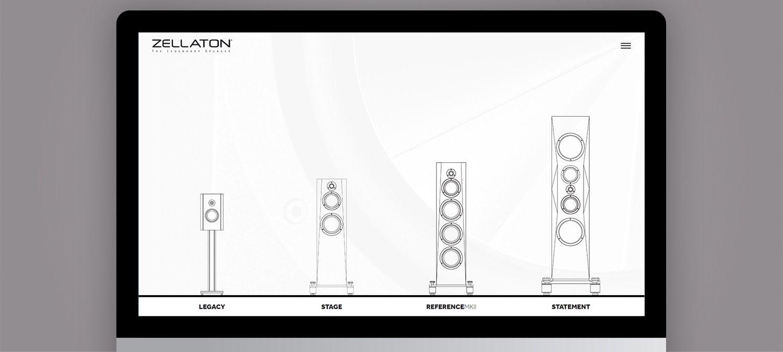 Einzigartige Webseite für Zellaton aus München - Webseite Illustration Beispiel