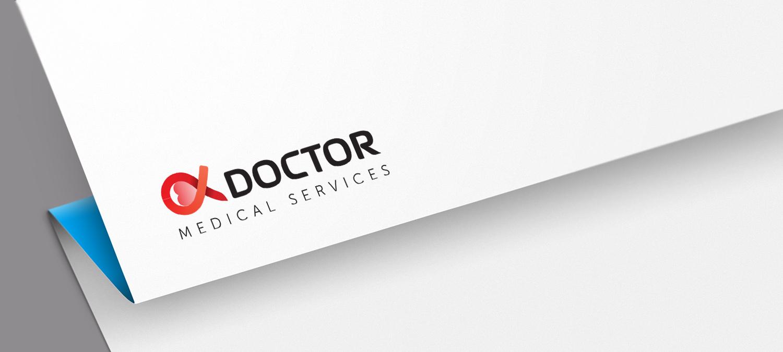 Alpha Doctor Logoentwicklung
