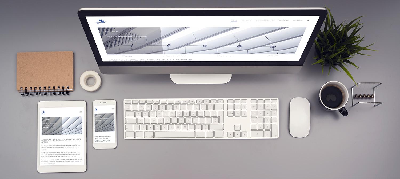Webseite Relaunch für Stöhr Architekten - Responsive Beispiel