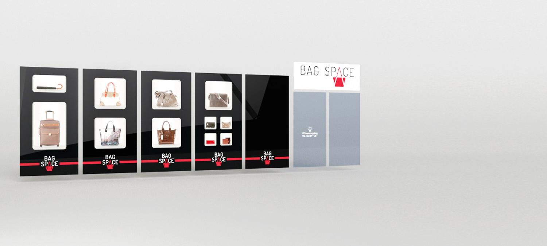 Taschenladen Schaufenster Design