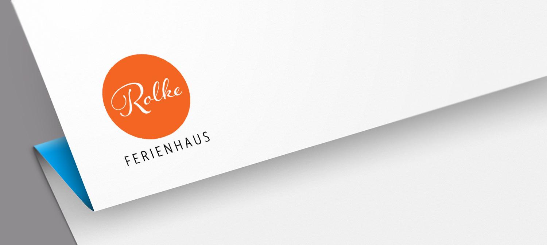 Ferienhaus Rolke Logoentwicklung