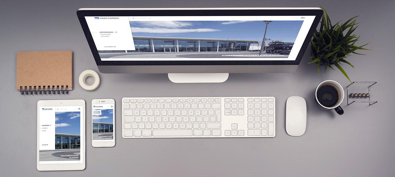 Webseite Entwicklung für Möckel Architekten - Responsive Beispiel