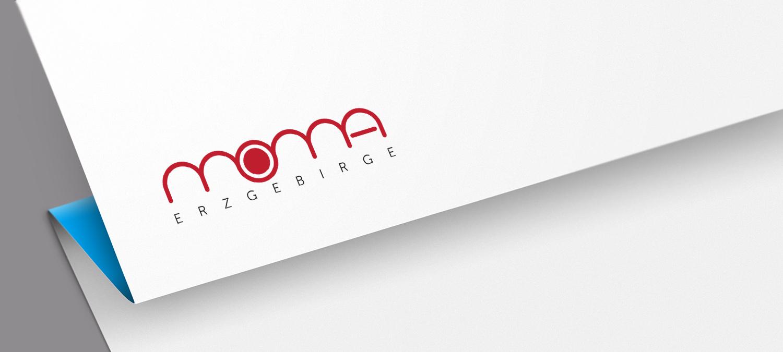 Logo Entwicklung für Moma Erzgebirge aus Nürnberg - Logo Visualisierung
