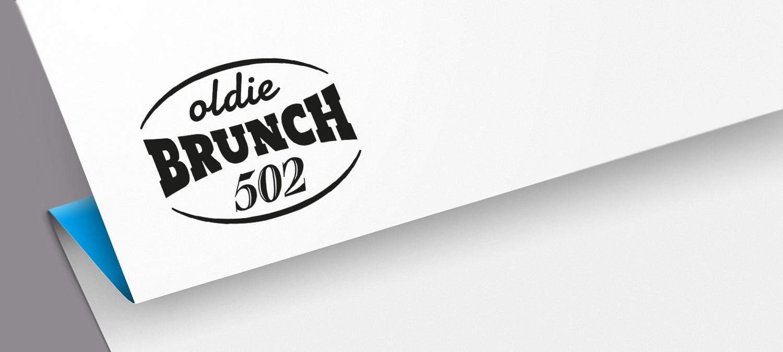 Oldie Brunch Logoentwicklung