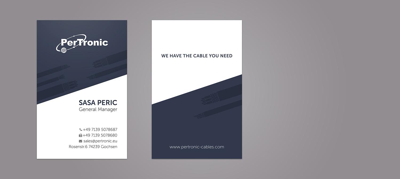 Visitenkarte Design und Druck