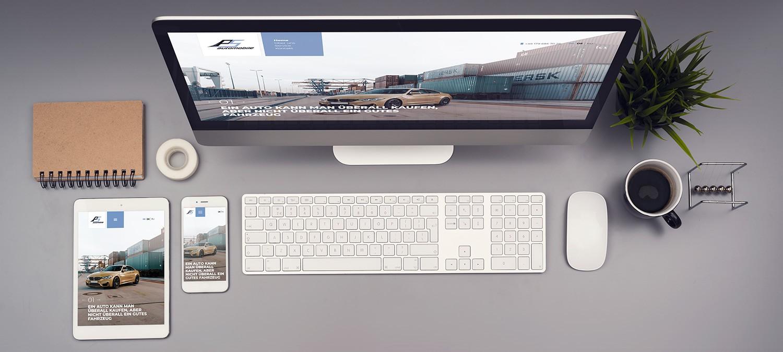 Webseite Relaunch für Autohänler - Responsive Webdesign Beispiel
