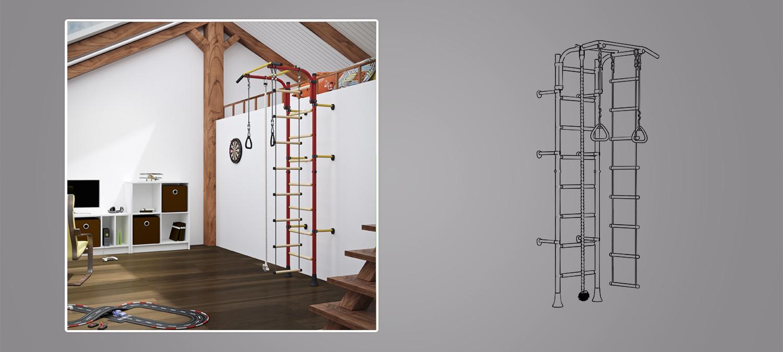 Jugenzimmer 3D Visualisierung