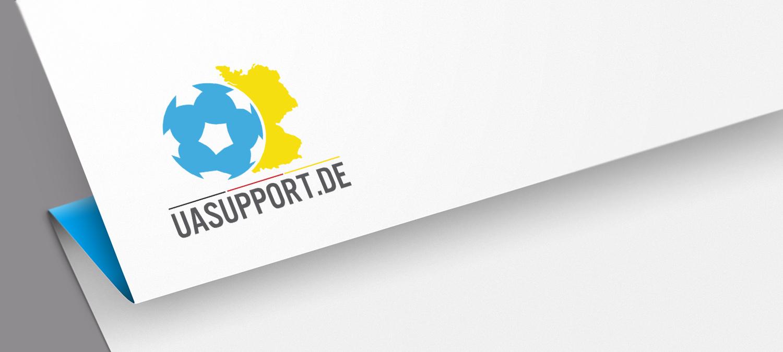 UA Support Logoentwicklung - Logo Entwicklung Beispiel