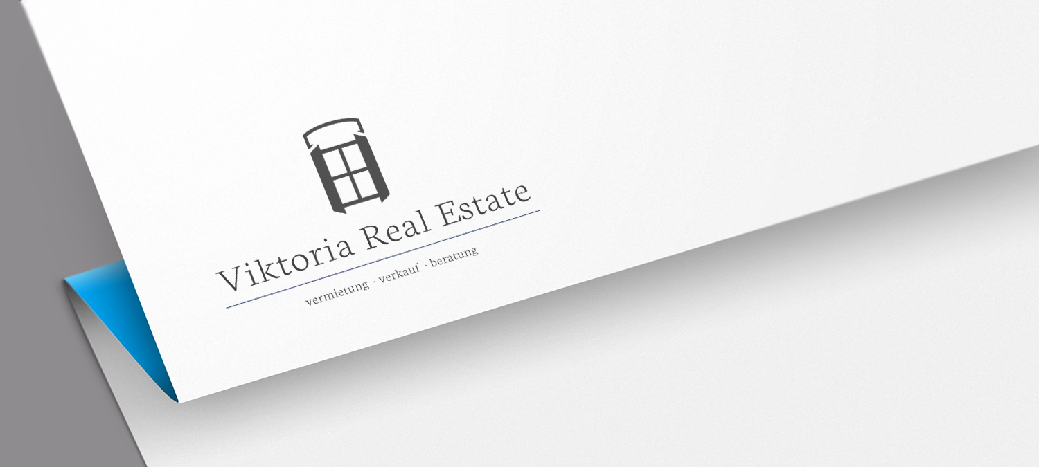Immobilienfirma Logo Design