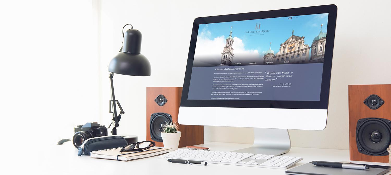 Immobilienmakler Webseite Entwicklung